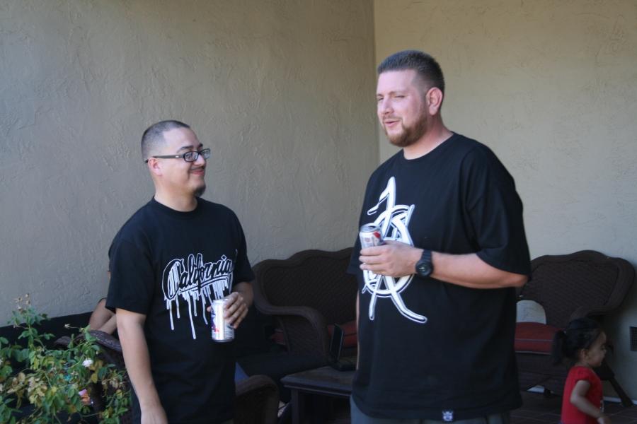 TFK Crew's Lou Short and Hoeks
