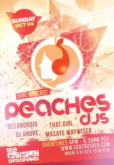 Peaches DJs - DJ Andre and Deeandroid Vol 90