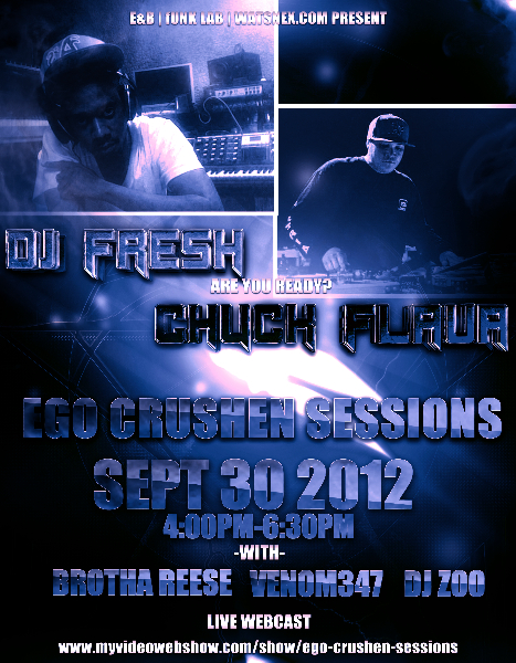 dj fresh and chuck flava flyer