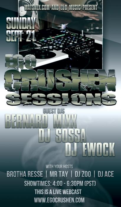 Bernard Mixx, DJ Ewock and DJ Sossa