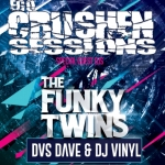 The Funky Twins DVS Dave DJs Vinyl