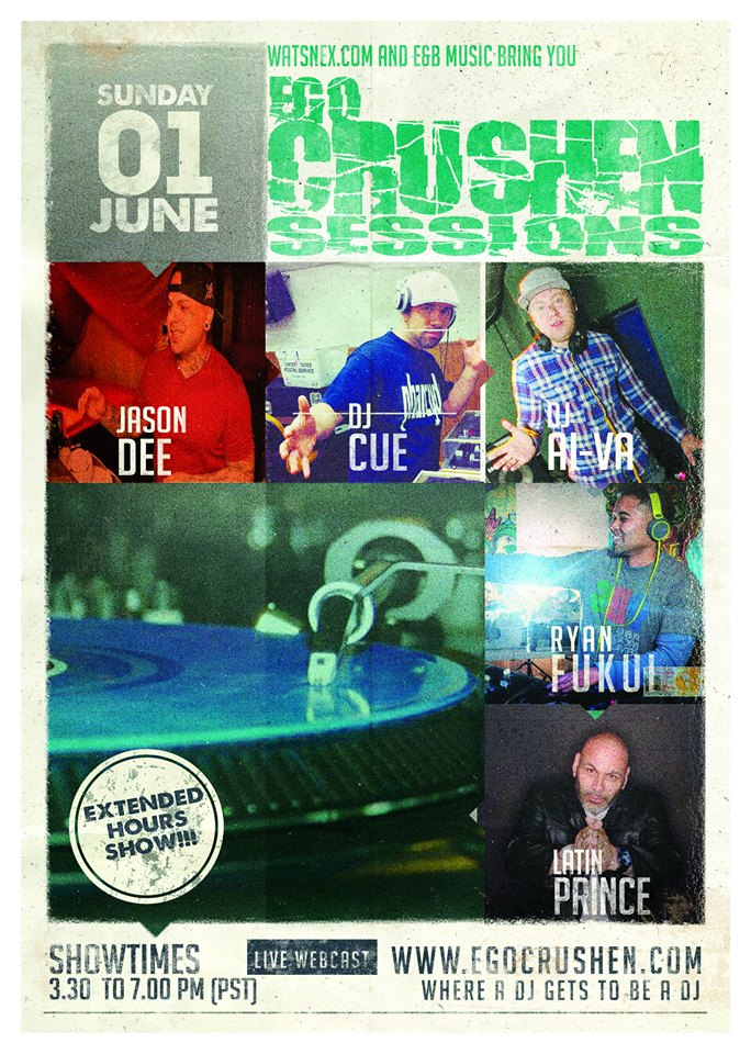 Ryan Fukui, DJ Cue, DJ Ai-Va, Latin Prince