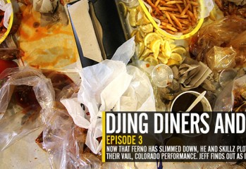 DJING DINERS AND DRIVES   VINYL DESTINATION