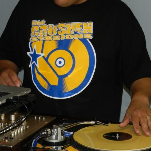 Ego Crushen Session Tshirt Blue Gold