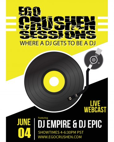 Ego Crushen vol 126 dj empre and dj epic